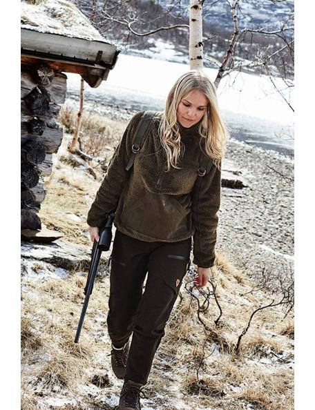 Hildur langhåret anorak dame fleece fra Northern Hunting til den aktive kvinde