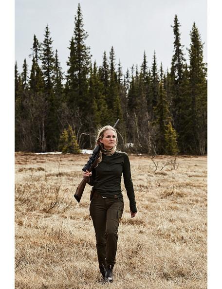 Long sleeve ladies undershirt in merino wool – Svanhild