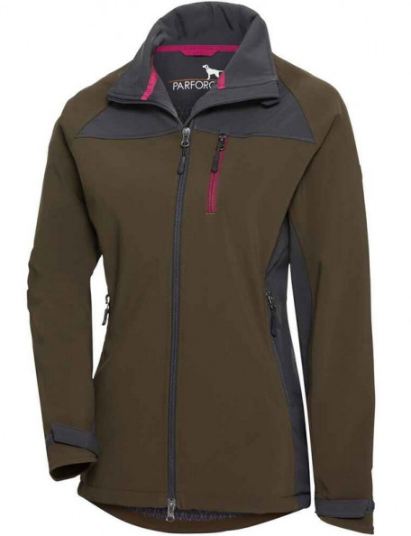 Ladies' soft shell jacket for the whole year