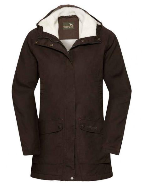 Parka jacket with fibre fur for women - PS5000