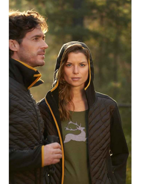Sporty softshell jacket for women