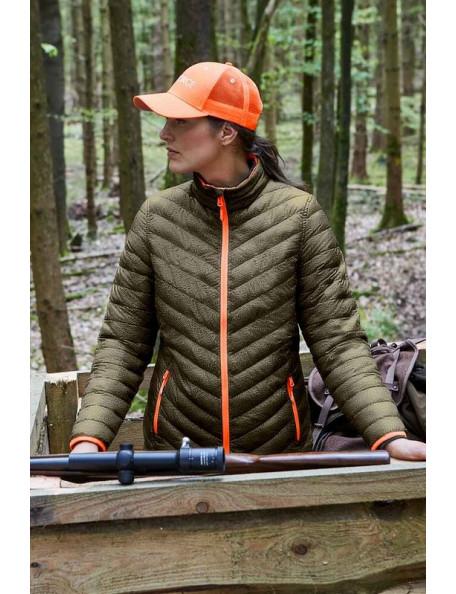Bea vendbar quiltet jakke fra Parforce til jagt