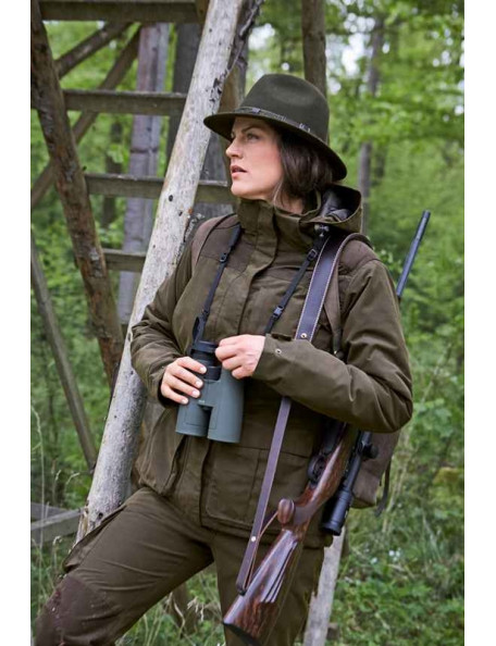 Classic ladies hunting jacket with vest - Silvia