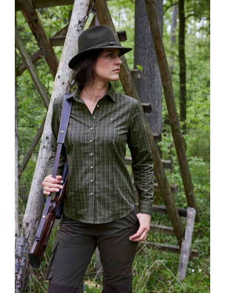 Classic lady hunting shirt