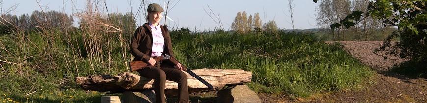 Damejagttøj og -udstyr til den nye jæger finder du kun hos os